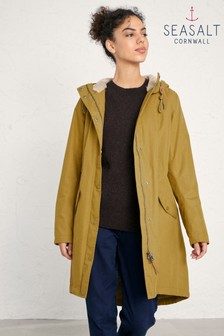 Seasalt Brown Plant Hunter 2 Oak Coat