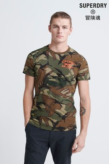 Superdry Dry Graphic Camo T-Shirt