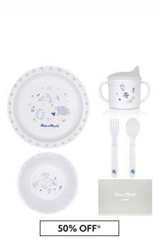 Tartine et Chocolat Baby White Dining Set