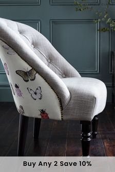 Papilio Heather Soho Chair by Clarke & Clarke