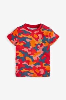 Camo Printed T-Shirt (3mths-7yrs)