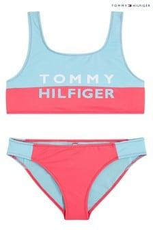 Tommy Hilfiger Pink Tommy Bold Bikini Set