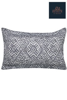 Bedeck of Belfast Cadenza Ikat Print Cotton Oxford Pillowcase