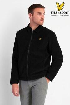 Lyle & Scott Black  Cord Jacket