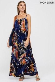 Monsoon Blue Mali EcoVero™ Animal Dress
