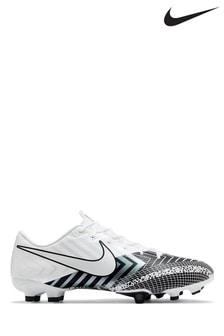 Nike White Mercurial Vapor 13 Academy Multi Ground Football Boots