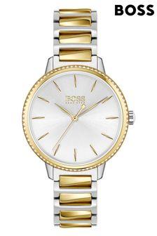 BOSS Signature Two-Tone Bracelet Watch
