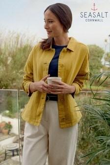 Seasalt Yellow Polvarth Jacket