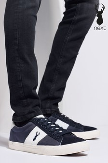 Suede Side Stripe Trainers
