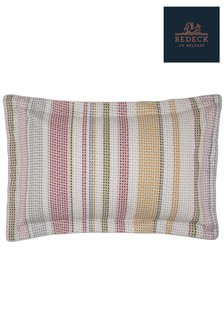 Bedeck of Belfast Nukku Stripe Cotton Oxford Pillowcase