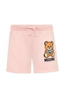 Moschino Kids Cotton Shorts