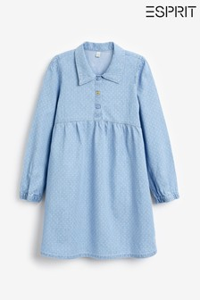 Esprit Light Blue Denim Dress