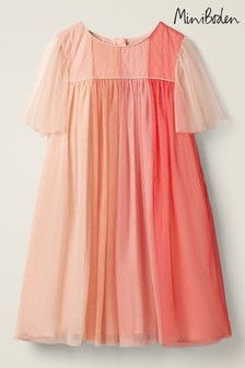 Boden Pink Tulle Dress