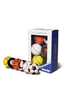 Sports Golf Balls 6 Pack
