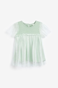 Mesh Sparkle Party Top (3mths-7yrs)