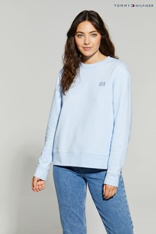 Tommy Hilfiger Blue Cindy Flag Sweatshirt