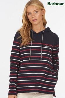 Barbour® Coastal Navy Stripe Holywell Hoody