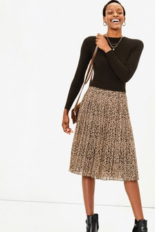 Oasis Natural Talia Knitted Dress