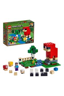 LEGO 21153 Minecraft The Wool Farm Building Set