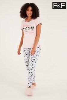 F&F Hot Pink Mickey Mouse™ Pyjamas