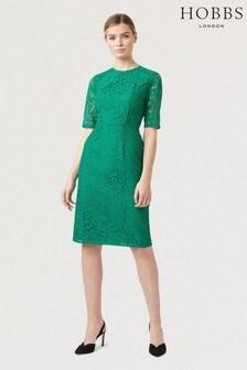 Hobbs Green Penny Dress