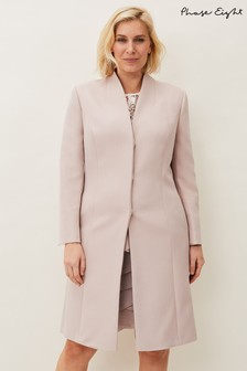 Phase Eight Neutral Constanza Coat