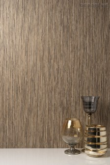 Vertical Grasscloth Wallpaper by Decorline