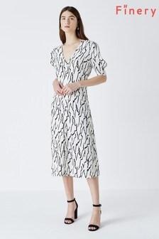 Finery Olney Print Midi Dress