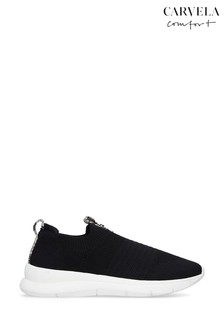 Carvela Black Comfort Cosmic Trainers