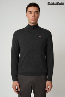Napapijri Quarter Zip Jumper