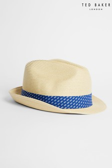 Ted Baker Swash Straw Trilby