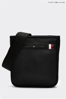 Tommy Hilfiger Black Downtown Mini Crossover Bag