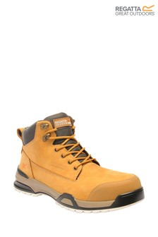 Regatta Brown Invective SBP Safety Boots