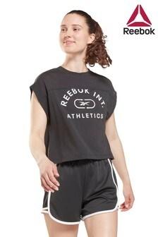 Reebok Work Out Ready Supremium Logo T-Shirt