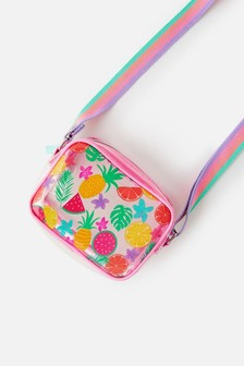 Angels By Accessorize Blue Fruit Jelly Cross-Body Bag