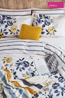 Joules Galley Grade Floral Housewife Pillowcase