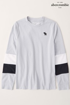 Abercrombie & Fitch Long Sleeve Preppy T-Shirt
