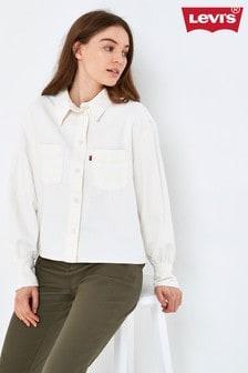 Levi's® Ecru Utility Long Sleeve Shirt