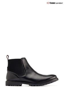 Base London® Black Anderson Chelsea Boots