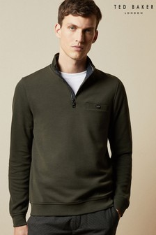 Ted Baker Muggie Half Zip Funnel Neck Jumper