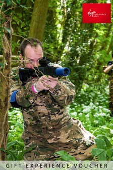 Forest Laser Tag Adventure With Pizza For Two Gift Experience by Virgin Experience Days