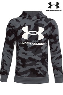 Under Armour Boys Rival Printed Hoodie