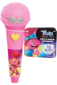 DreamWorks Trolls World Tour Poppy's Musical Microphone