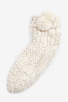 Chunky Cable Socks