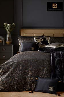 Roar Luxury Jacquard Duvet Cover and Pillowcase Set by Laurence Llewelyn-Bowen