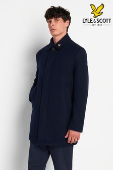 Lyle & Scott Wool Mac Coat