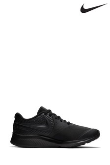 Nike Run Black Star Runner Youth Trainers