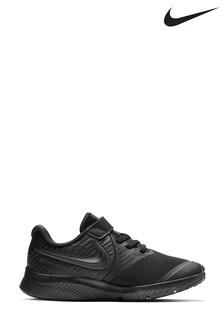 Nike Run Black Star Runner Junior Trainers