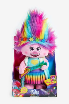 DreamWorks Trolls World Tour Dancing Feature Poppy Soft Toy
