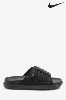 Nike Black City Sliders